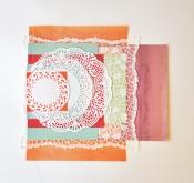 kleedjes en gekleurd papier
