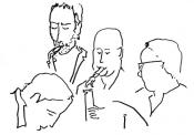 Franz von Chossy, Floris van der Vlugt, Lars Dietrich, Felix Schlarmann
