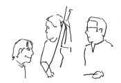 Franz von Chossy, Pat Cleaver, Felix Schlarmann