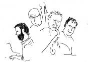 Koen Schalkwijk, Bart Tarenskeen, Marc Scholten, Florian Hoefnagels