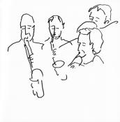 Nils van Haften, Jasper van Damme, Allison Philips, Kobi-Arditi