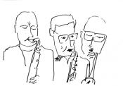 Nils van Haften, Miguel Boelens, Bert Lochs