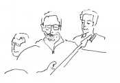 Franc auf dem Brinke, Dave Sahanaja, Wolfgang Maiwald