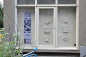 Drie ramen aan de Paulstraat